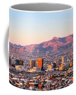 Downtown El Paso Sunrise Coffee Mug