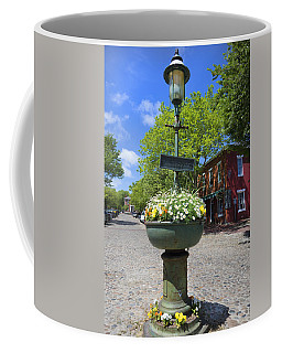 Downtown Nantucket - Garden View 46y Coffee Mug