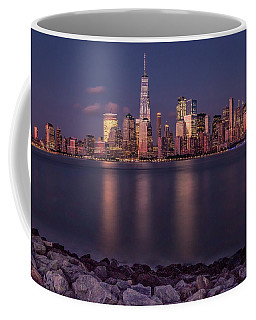 Downtown Nyc At Sunset Coffee Mug