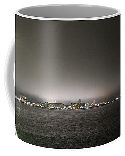 Downtown Oc Skyline Coffee Mug