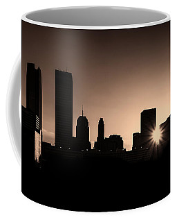 Coffee Mug featuring the photograph Downtown Oklahoma City by Betty LaRue