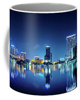 Downtown Orlando Panorama Coffee Mug by Mark Andrew Thomas
