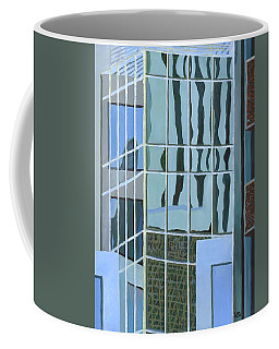 Downtown Reflections Coffee Mug by Alika Kumar