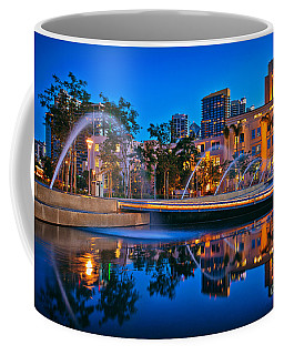 Downtown San Diego Waterfront Park Coffee Mug
