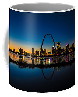 Downtown St. Louis And The Gateway Arch Coffee Mug