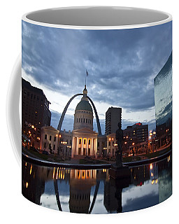 Downtown St. Louis At Dawn Coffee Mug