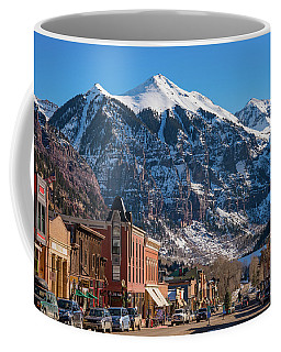 Downtown Telluride Coffee Mug