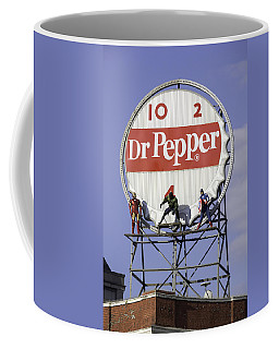 Dr Pepper And The Avengers Coffee Mug