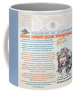 Real Fake News Antarctic Correspondent 1 Coffee Mug