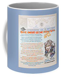 Real Fake News Antarctic Correspondent 1 Coffee Mug