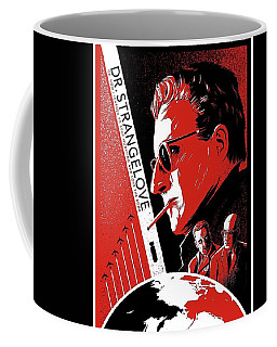 Dr. Strangelove Theatrical Poster Number Three 1964 Coffee Mug