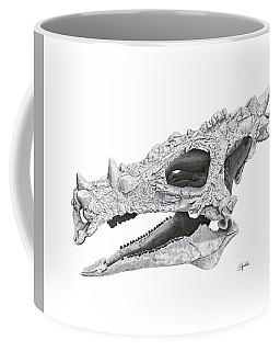 Dracorex Hogwartsia Skull Coffee Mug