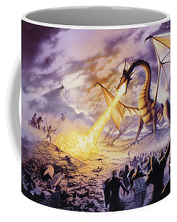 Dragon Battle Coffee Mug