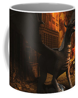Dragon Flame Coffee Mug
