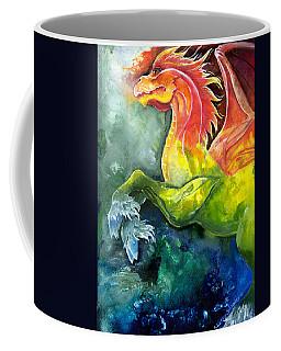 Dragon Horse Coffee Mug