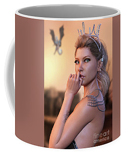 Thoughts Of Dragons Coffee Mug