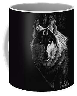 Dragon Wolf Coffee Mug