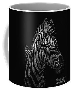 Coffee Mug featuring the painting Dragon Zebra by Stanley Morrison