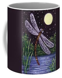 Dragonfly Dreaming Coffee Mug by Sandra Estes
