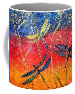 Dragonfly Fantasy Flight Coffee Mug