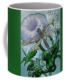 Dragonfly In Sun Coffee Mug