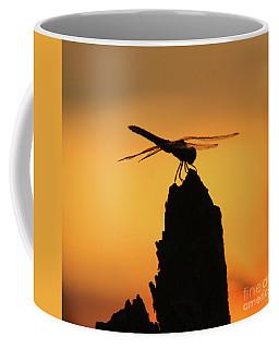 Dragonfly Sunset Coffee Mug