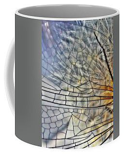 Dragonfly Wing Coffee Mug