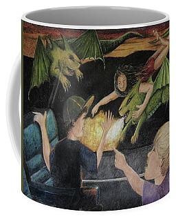 Dragons From The Train Coffee Mug