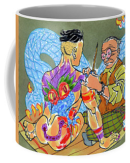 Dragon's Scale Coffee Mug