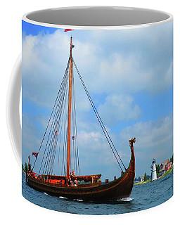The Draken Passing Rock Island Coffee Mug
