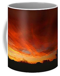 Drama At Sunrise Coffee Mug