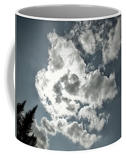 Drama In The Sky Coffee Mug by Karen Stahlros