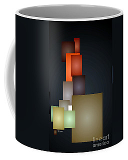 Dramatic Abstract Coffee Mug