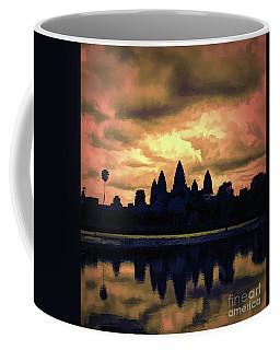 Dramatic Angkor Wat  Coffee Mug
