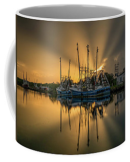 Dramatic Bayou Sunset Coffee Mug