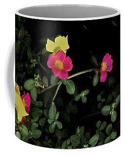 Dramatic Colorful Flowers Coffee Mug
