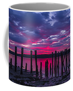 Dramatic Maine Sunrise Coffee Mug