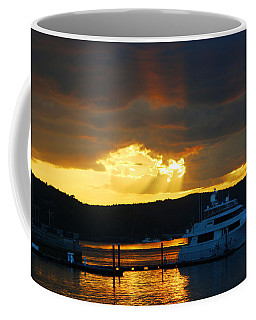 Coffee Mug featuring the photograph Dramatic Skies by Living Color Photography Lorraine Lynch
