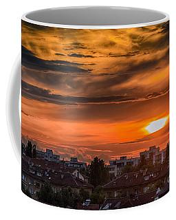 Dramatic Sunset Over Sofia Coffee Mug