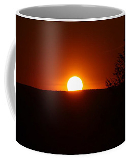 Dramatic Sunset View From Mount Tom Coffee Mug