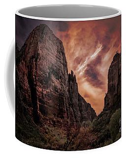 Dramatic Zion National Park Utah  Coffee Mug