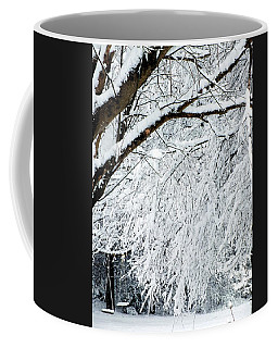 Draped In White  Coffee Mug