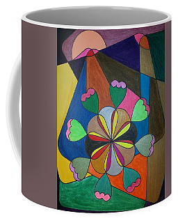 Coffee Mug featuring the painting Dream 302 by S S-ray