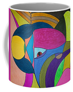 Coffee Mug featuring the painting Dream 303 by S S-ray