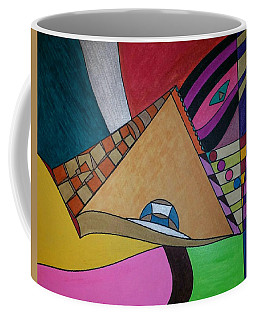 Coffee Mug featuring the painting Dream 304 by S S-ray