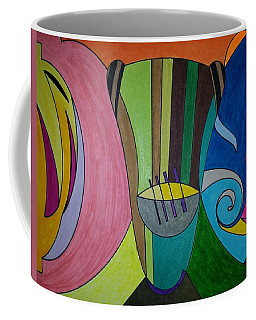 Coffee Mug featuring the painting Dream 305 by S S-ray
