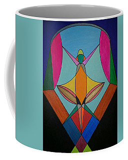 Coffee Mug featuring the painting Dream 307 by S S-ray