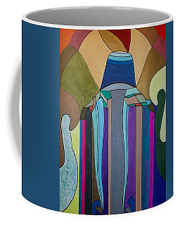 Coffee Mug featuring the painting Dream 308 by S S-ray