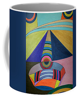 Coffee Mug featuring the painting Dream 309 by S S-ray