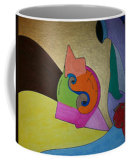 Coffee Mug featuring the painting Dream 310 by S S-ray